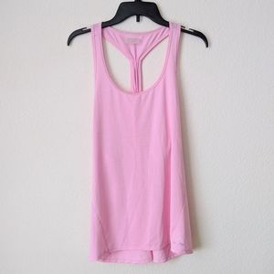 NWT CALVIN KLEIN Soft Pink Athletic Tank Top